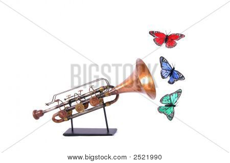 Butterflies And Horn
