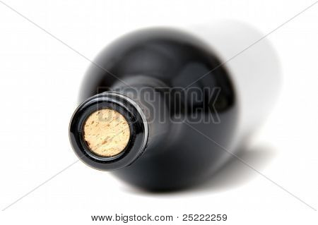 Bottleneck Of Red Wine