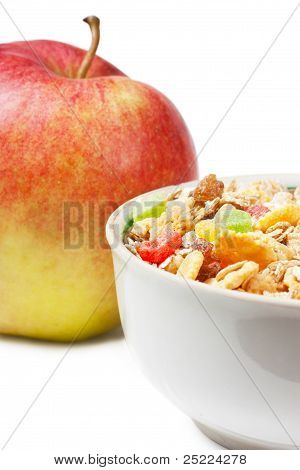 Muesli And Apple
