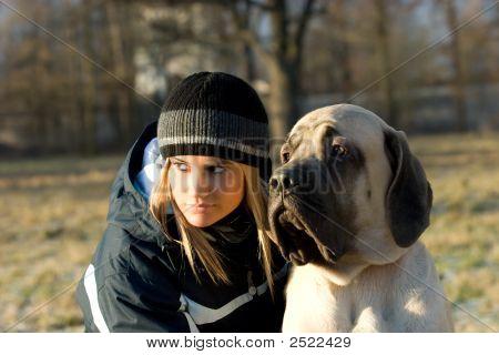 Gil com cão