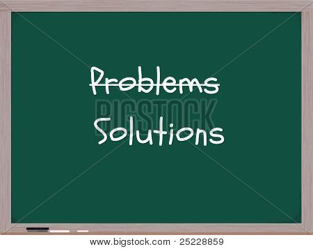 Problems Solutions Chalkboard