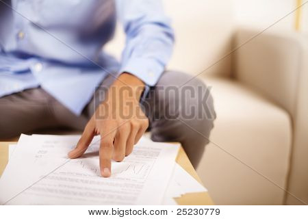 Hand Of A Young Businessman