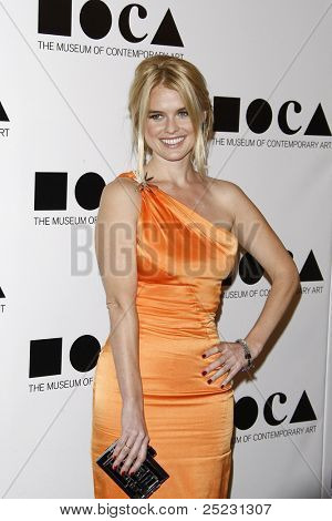 LOS ANGELES - NOV 12: Alice Eve at the 2011 MOCA Gala, An Artist's Life Manifesto at MOCA Grand Avenue on November 12, 2011 in Los Angeles, California