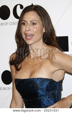 LOS ANGELES - NOV 12: Minnie Driver at the 2011 MOCA Gala, An Artist's Life Manifesto at MOCA Grand Avenue on November 12, 2011 in Los Angeles, California