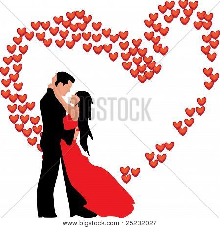 Love. Man and woman. Two. Wedding. Marriage. Valentine's day.