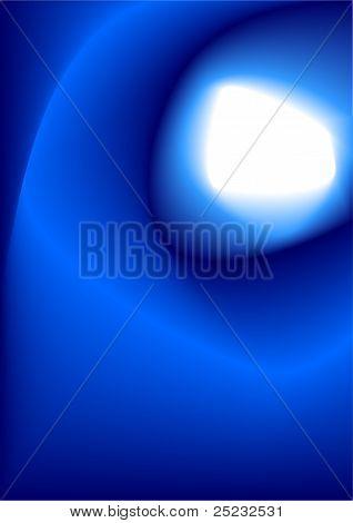Deep Blue Shiny Hole