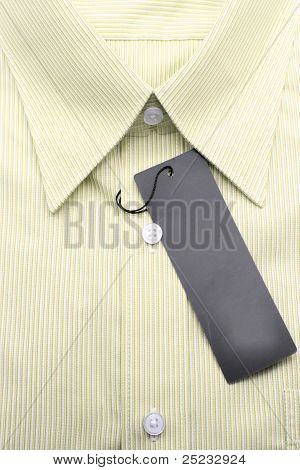 Yellow Business Shirt