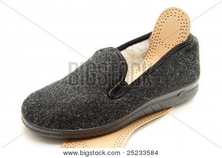 House Shoe with inserting sole
