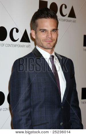 LOS ANGELES - NOV 12:  Greg Rikaart arrives at the MOCA Gala 2012 at MOCA on November 12, 2011 in Los Angeles, CA