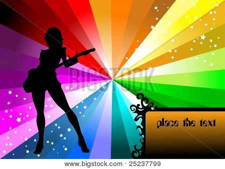 Guitar On The Rainbow
