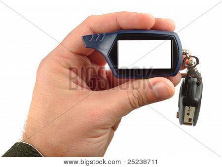 Display Of Remote Radio Trinket