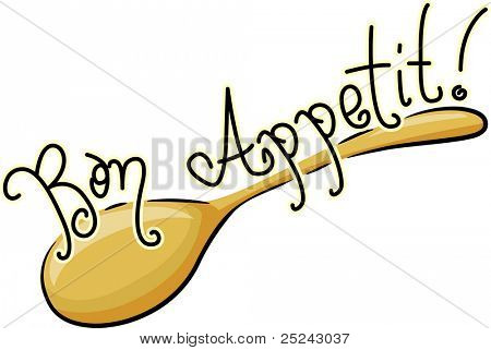 Icon Illustration of a Spoon