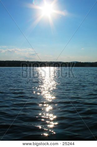 Sun On The Lake