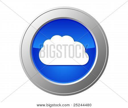 Cloud Computing Button
