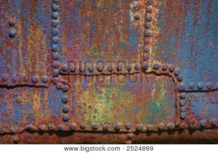 Textura metálica