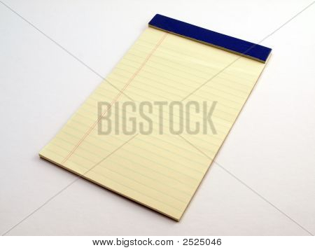 Yellow Legal Pad 1