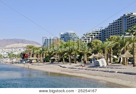 Southern beach near Eilat, Israel