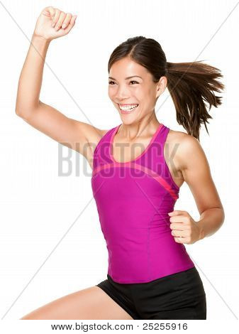 Aerobics Fitness Woman