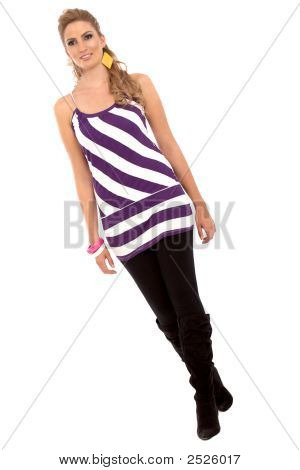 Fashion Model Walking
