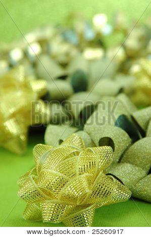 Shiny Holiday Bows