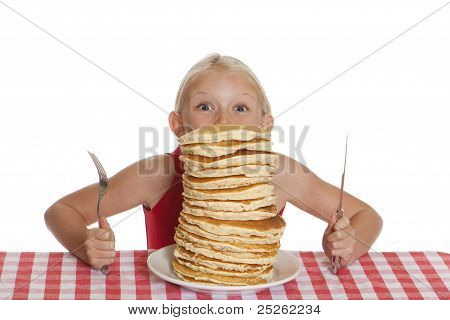 Peering Over Pancakes