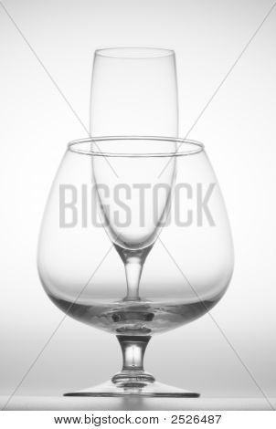 Wine Glass And Goblet