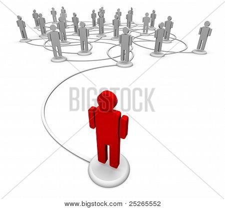 Social Media - Communication Links