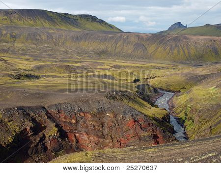 Laugavegur, Iceland, north of Thorsmork