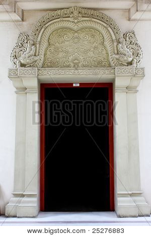 Thai Carved Doors