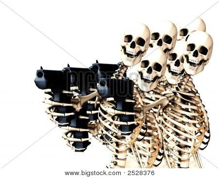 Skeletons And Guns