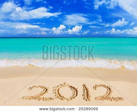 Numbers 2012 On Beach