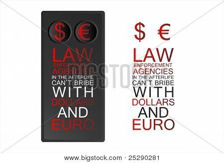 Aplicação da lei.