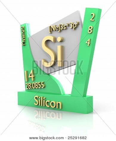 Silicon Form Periodic Table Of