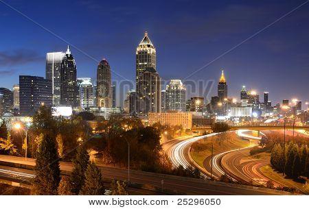 Paisaje urbano de Atlanta Georgia