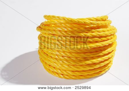Yellow Coil Of Rope