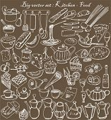 image of drawing beer  - big vector set  - JPG