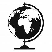 Geography Icon. Simple Illustration Of Geography  Icon For Web poster