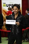 LOS ANGELES - NOV 12: Eugenio Derbez at the world premiere of 'The Muppets' held at the El Capitan T