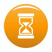 Cursor Loading Element Icon. Simple Illustration Of Cursor Loading Element Icon For Any Design Orang poster