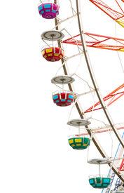 stock photo of ferris-wheel  - Ferris wheel - JPG