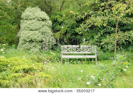 France, Le Jardin De L Atelier In Perros Guirec