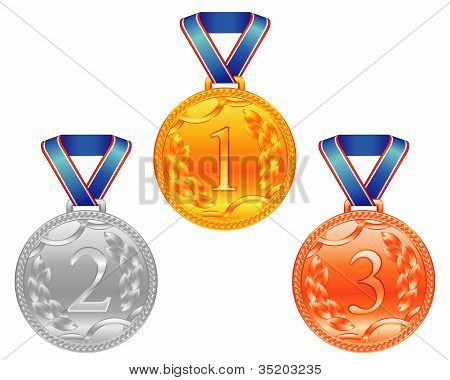 Three Sport Medals