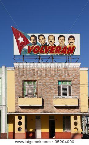 Propaganda política em Cuba
