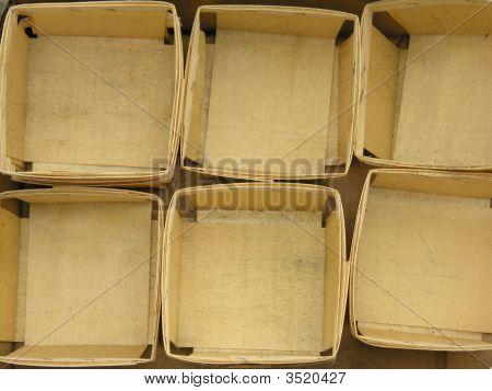 Empty Berry Crates
