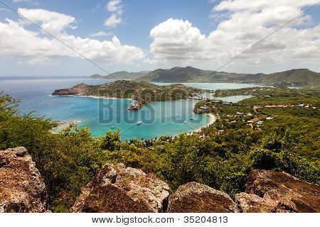 English Harbour Dockyard Antigua Caribe paisaje Tropical de Nelson