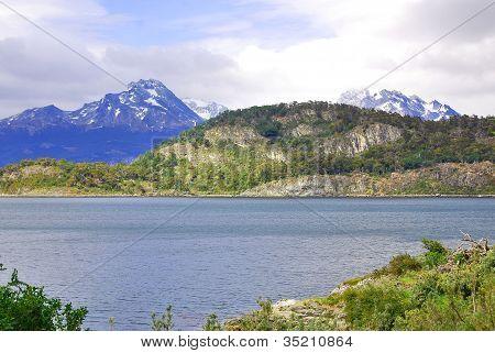 A beautiful landscape El Calafate, Patagonia, Argentina