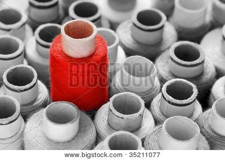 Red Eye-catcher Concept Shot