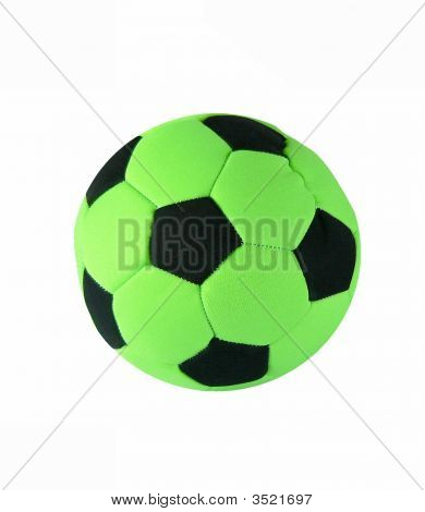 Green Soccerball Toy