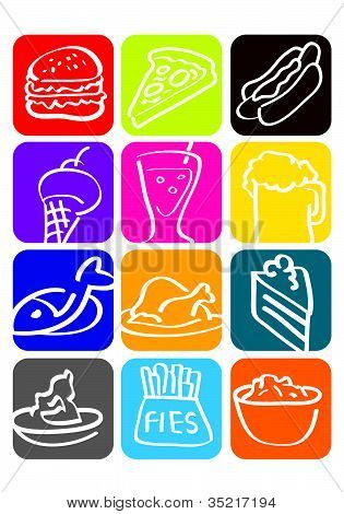 icon for food.