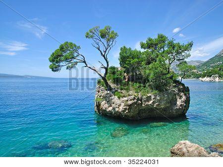 Brela,adriatic Sea,Dalmatia,Croatia